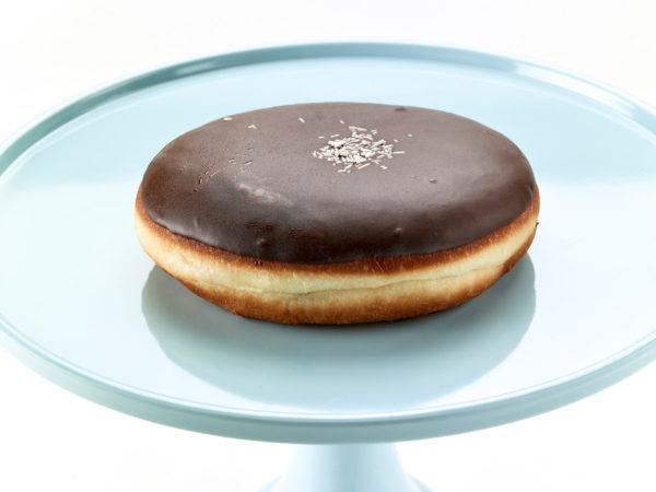 01270 Ντόνατς γέμιση σοκολάτα με επικάλυψη σοκολάτα