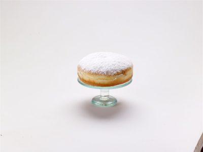 12594 Κράφεν με σοκολάτα και άχνη ζάχαρη